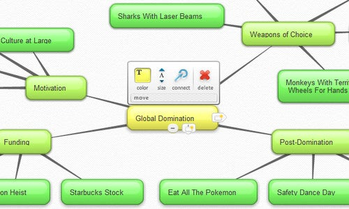 Create Polished Mind Maps at Bubbl.us