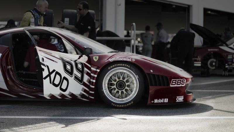 Ferrari's new 458 Grand-Am race car is gorgeous