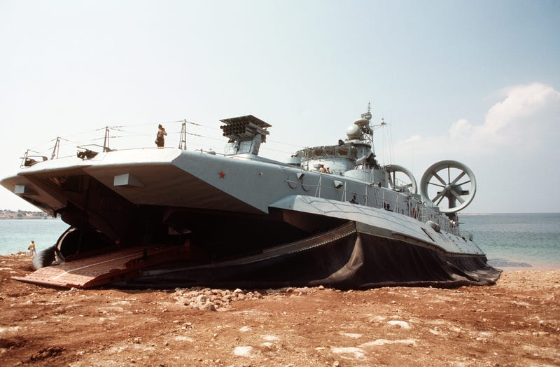Is This Giant Soviet Era Hovercraft China's New Access Weapon Of Choice?