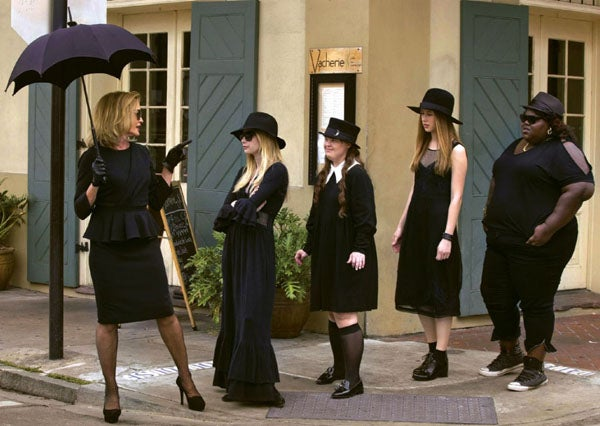 First Jessica Lange-filled footage from American Horror Story: Coven