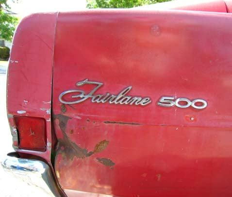 1968 Ford Fairlane 500