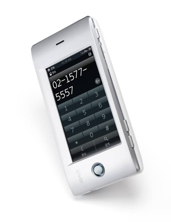 iRiver Cell Phone Is Pure Aluminum and Touchscreen Goodness