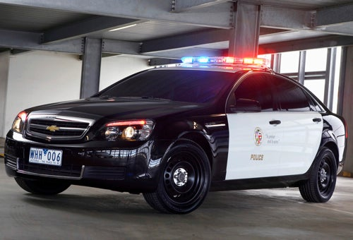 Chevy Caprice Police Car: Once You Go Black...