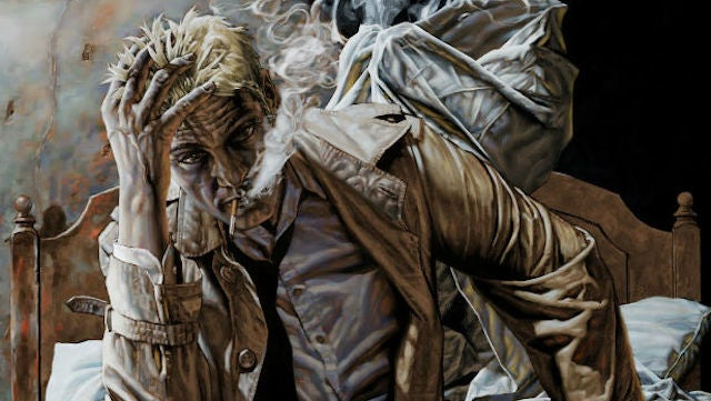 Constantine's getting a guardian angel for his TV series... literally