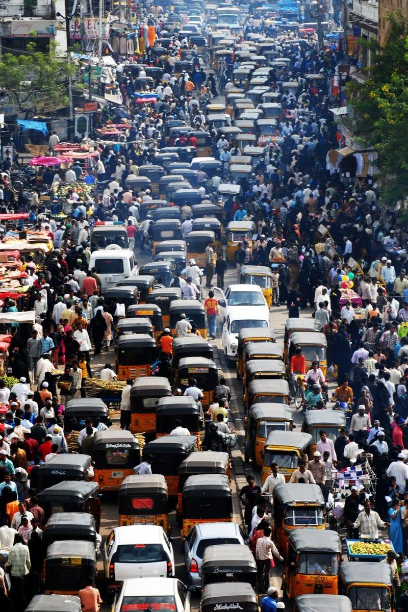 Ten Of History's Worst Traffic Jams