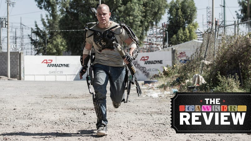 Matt Damon Can Save Humanity, But He Can't Save Elysium