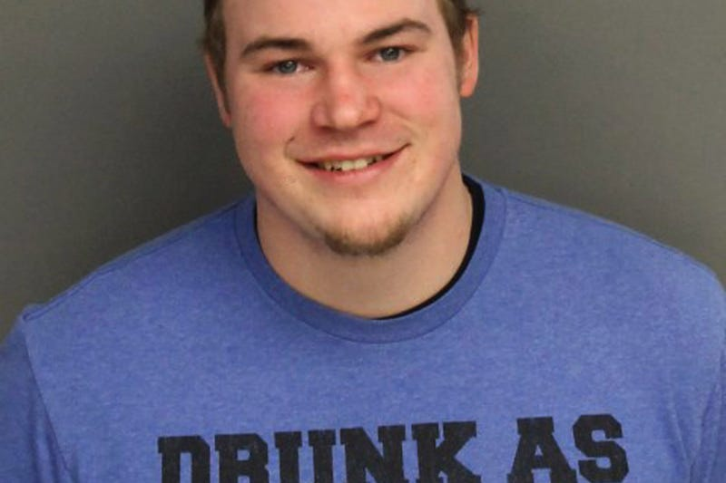 World's Worst Drunk Driver Arrested Wearing 'Drunk As Shit' T-Shirt