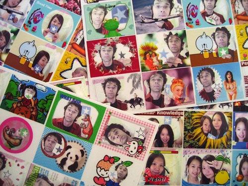 I Was a Print Club Sticker Junkie