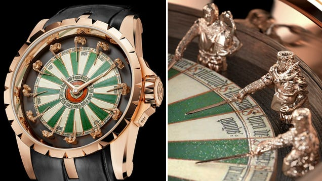 Not Even The Lady In the Lake Would Wear This Knights of the Round Table Watch