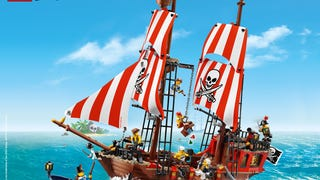 Lego Pirates preview images on Lego.com