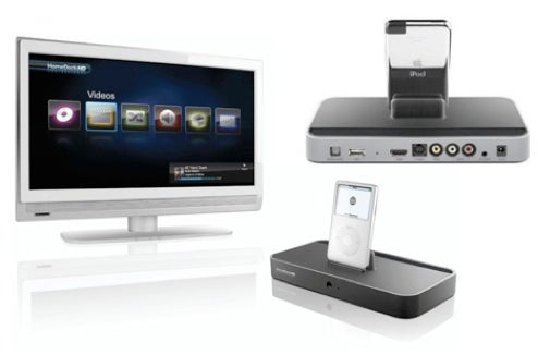 DLO's Homedock Pro Adds 1080i HD Output to Your iPod