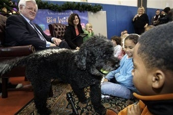 A Nation Sighs as Obama Puppy Crisis Finally Ends