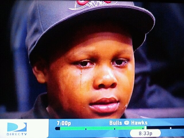 Derrick Rose Made This Young Hawks Fan Cry