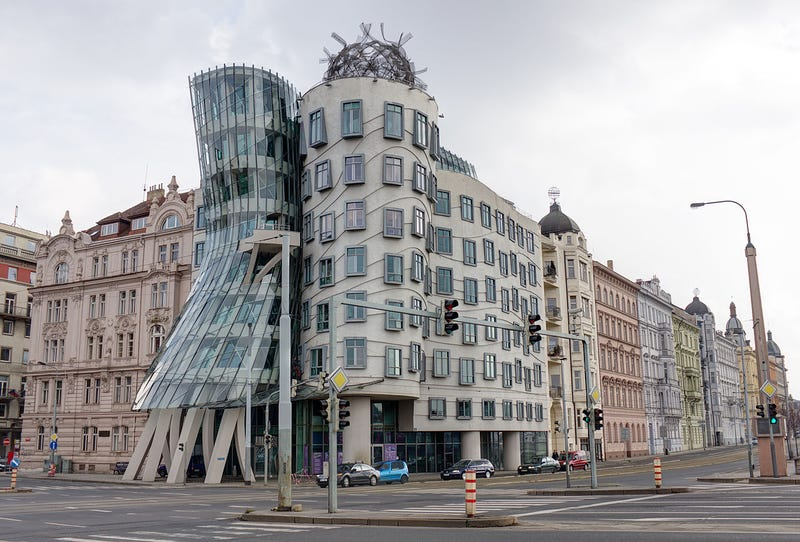 Structurally Sound Buildings That Look Like They've Been Smashed