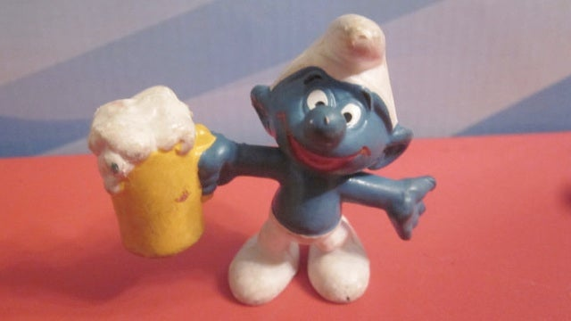 Drunk Smurf in search of love participates in home invasion