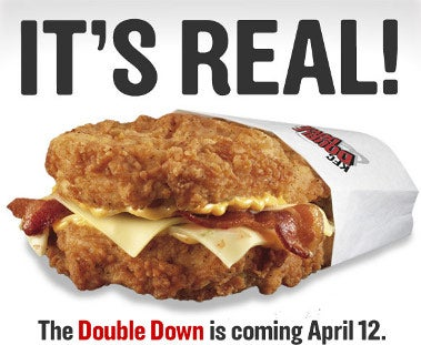 Dear God: KFC's Chicken-as-Bread Sandwich Is Coming