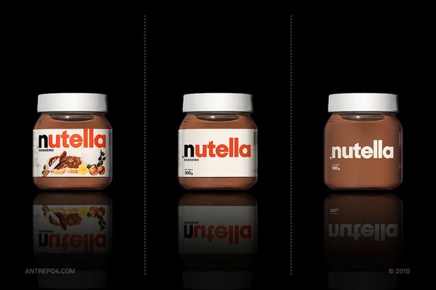 Your Favorite Delicious Snacks Get a Minimalist Transformation