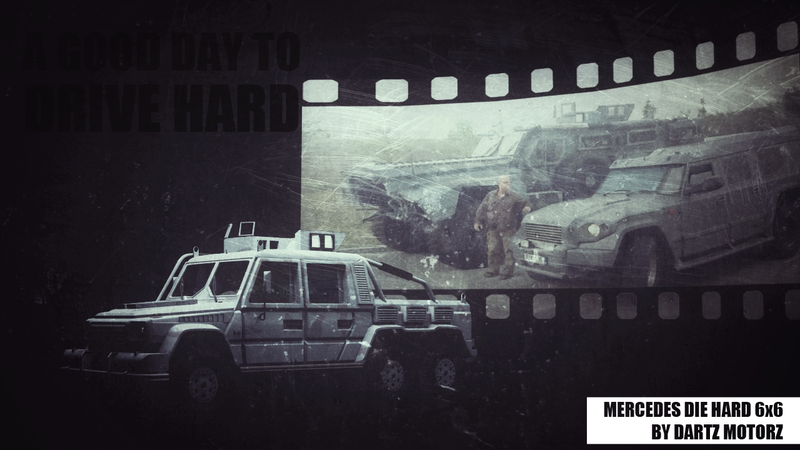 Dartz Turned A 6x6 G-Wagen Into The MRAP From Die Hard 5