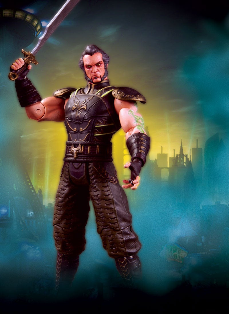Batman Figures Pull a Knife on Arkham City's Finest