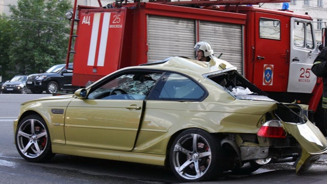 BMW Crash Gallery