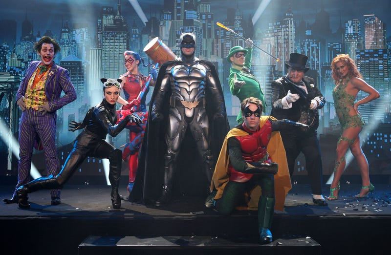First video from the UK's Batman Stage Show: Turn On The Camp!