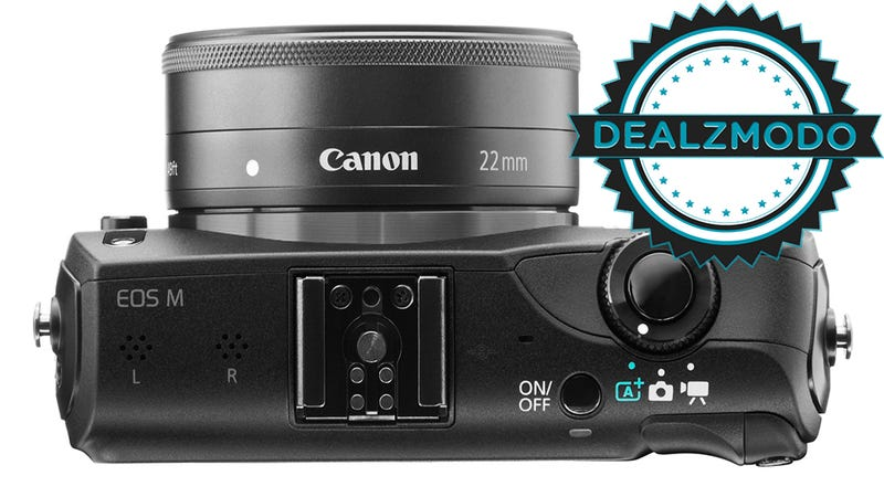 This Convenient, Compatible Camera Is Your Mirrorless Deal Of The Day