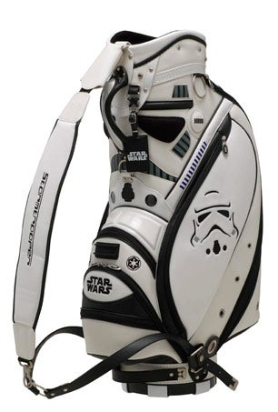 Coax Japanese People to Play Golf With Star Wars Golf Gear