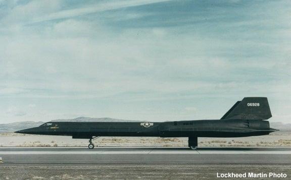 Secret A-12 Spy Plane Officially Unveiled at CIA's Headquarters, No X-Men Found Inside