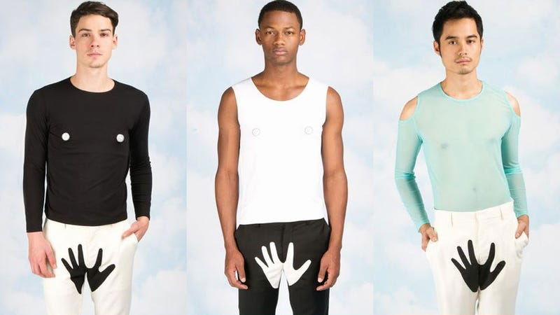 Yoko Ono's Opening Ceremony Fashion Line Is for Men Who Want Hands, Any Hands, On Their Balls