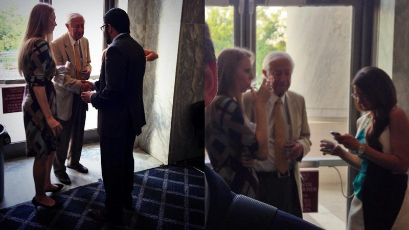 Anti-Gay Congressman Attends Pro-Gay Event After Walking In Wrong Door