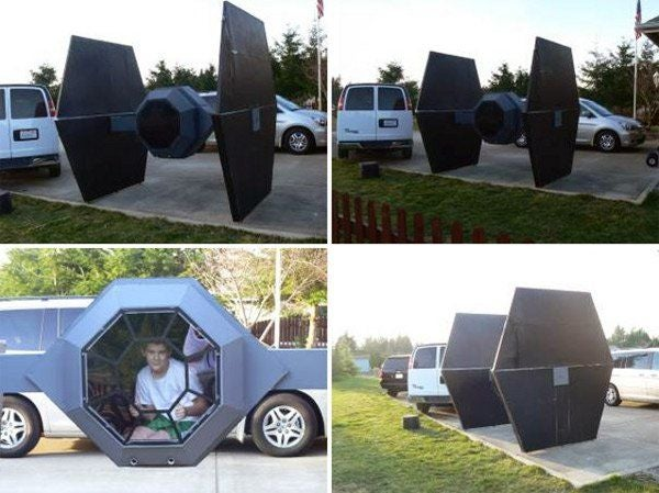 Star Wars TIE Fighter, Free to a Good Home