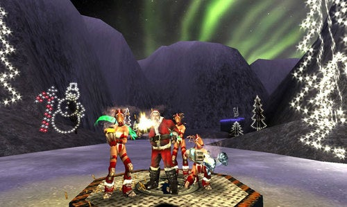 Quake Live Gets Festive, Vixen-Filled For Holidays