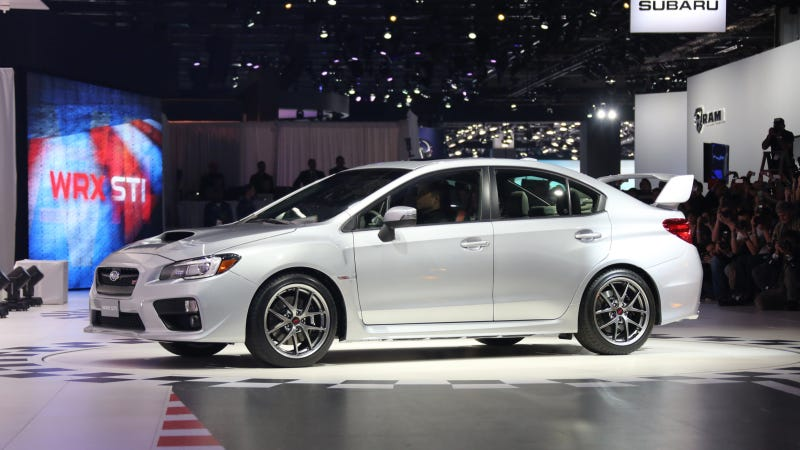 There Are Only 1,000 Copies Of The 2015 Subaru WRX STI You Really Want