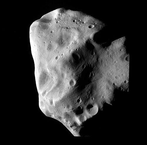 Asteroid Lutetia Up Close