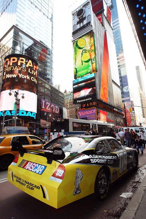 NASCAR Visits Times Square