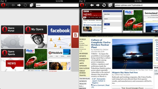 Opera Mini 6 Is Available on the iPad