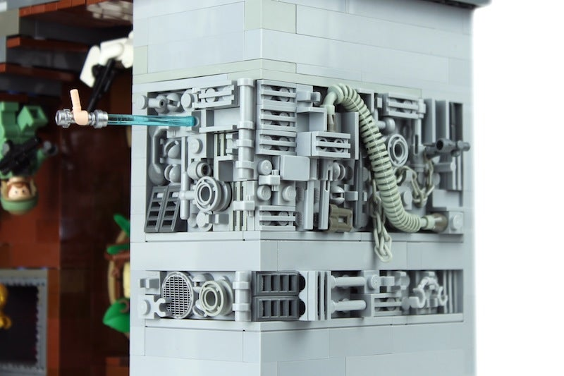 This LEGO Star Wars M.C. Escher diorama defines awesome