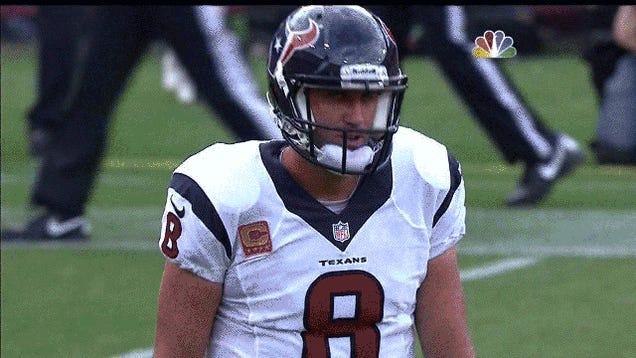 Matt Schaub Is A Broken, Morose Man: Your 49ers-Texans Roundup
