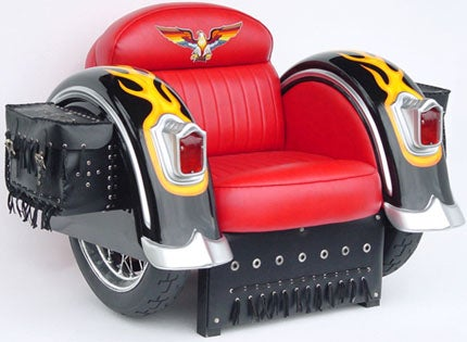 Motorcycle Chair: Head Out Off the Highway