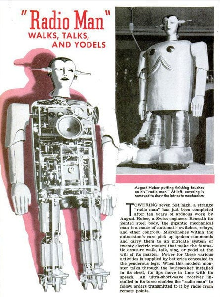 Old Timey Robots Are Obsolescently Hilarious