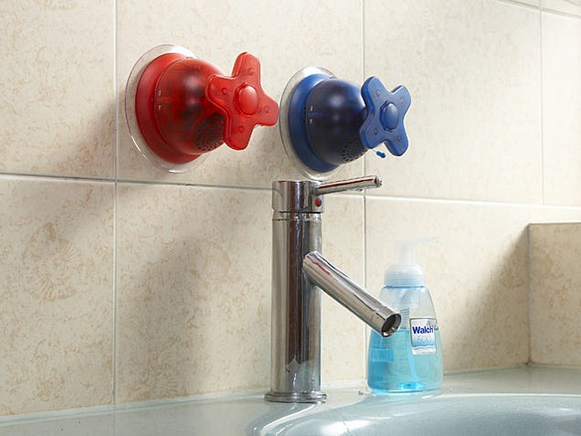 Brando's Cyber Tap Radios Suck (Onto Your Shower Cubicle)