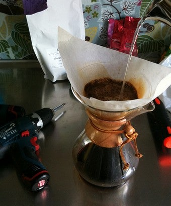 Brew Simple No-Electricity Drip Coffee with a Chemex Coffe Maker