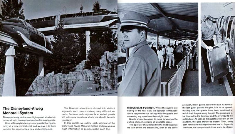 Learn To Drive Disneyland's Monorails With Its 1966 Operator Guide