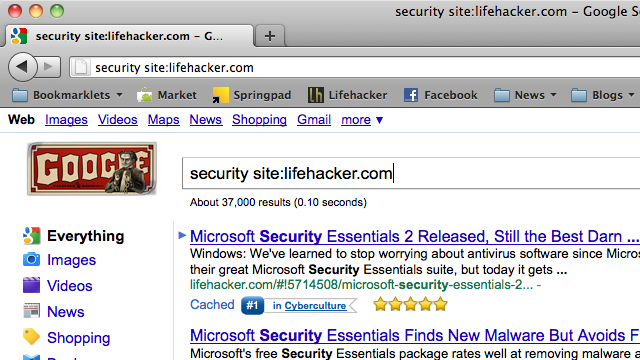 How to Perform Site-Specific Searches from Firefox's Address Bar