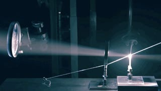 This Rube Goldberg Machine Runs On Light