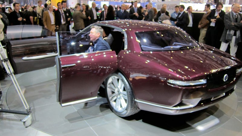 Bertone concept captures spirit of Jaguar past