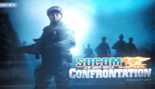 SOCOM Confrontation Closed Beta Pics