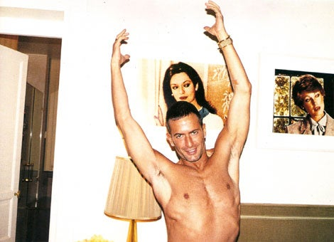 Marc Jacobs Is Topless & Having A Mid-Life Crisis
