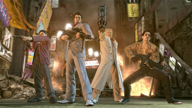 It Seems Japan May Not Like Its Yakuza Games with Zombies After All (But It Still Likes Yakuza Games)