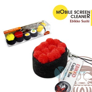 Sushi, Chocolate and Ice Cream Cellphone Screen Cleaners